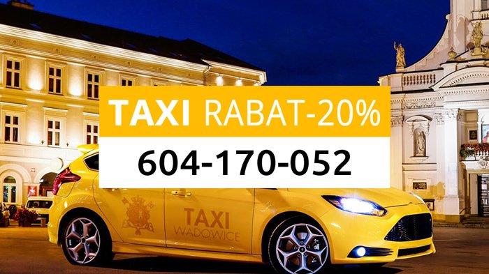 Taxi Wadowice Zniżki