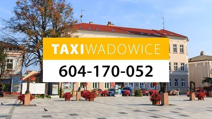 taxi wadowice