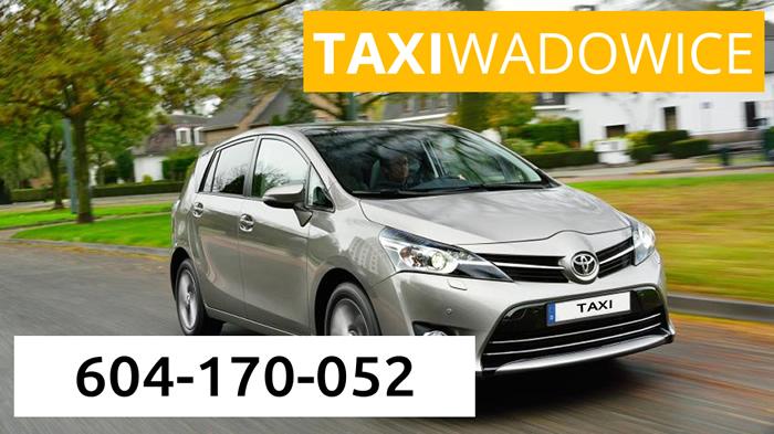 Aktualne 6-osobowa taksówka ☎ 604 170 052 KG25